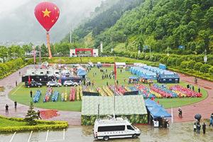 岷江流域自然灾害应急大演练在四川阿坝举行 近5000人参演水陆空联合作战