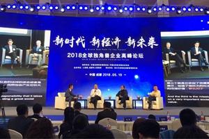 """""""2018全球独角兽企业高峰论坛""""在成都举办"""